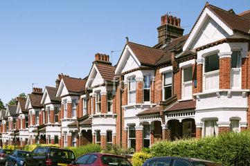 Street of houses